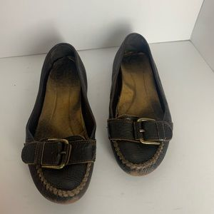 J.Crew Brown Leather Loafers